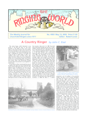 The Ringing World issue 4959