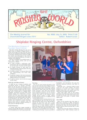 The Ringing World issue 4969