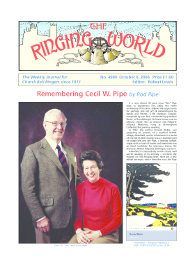 The Ringing World issue 4980