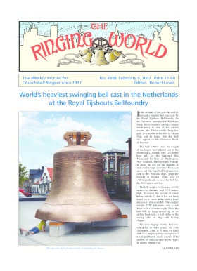 The Ringing World issue 4998