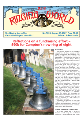 The Ringing World issue 5024