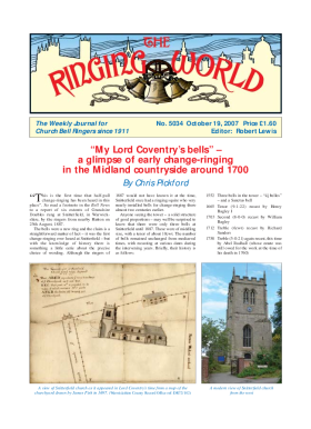 The Ringing World issue 5034