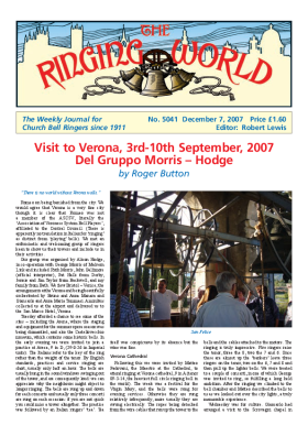 The Ringing World issue 5041