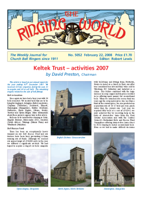 The Ringing World issue 5052