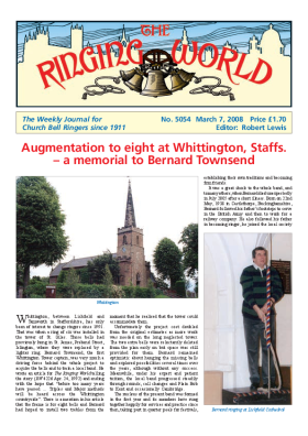 The Ringing World issue 5054