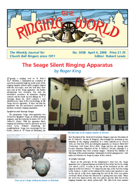 The Ringing World issue 5058