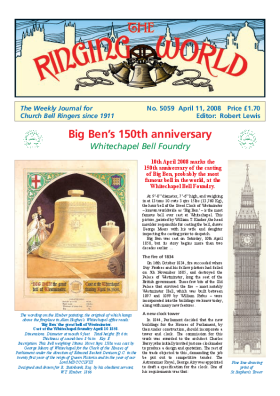 The Ringing World issue 5059
