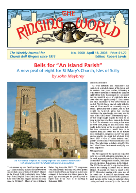 The Ringing World issue 5060