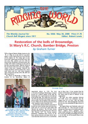 The Ringing World issue 5066