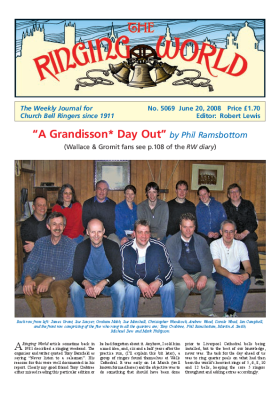 The Ringing World issue 5069
