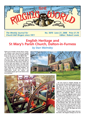The Ringing World issue 5070