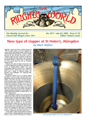 The Ringing World issue 5071