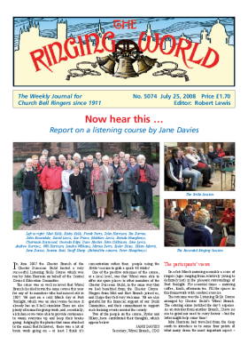 The Ringing World issue 5074