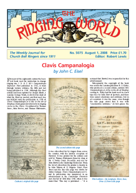 The Ringing World issue 5075