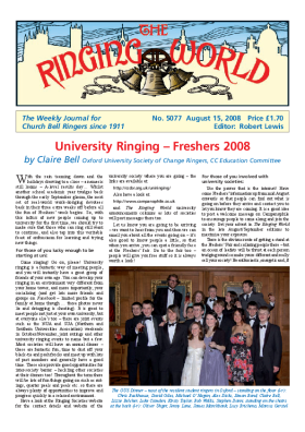 The Ringing World issue 5077