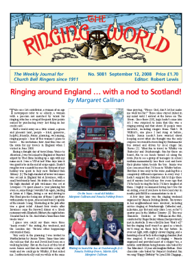 The Ringing World issue 5081