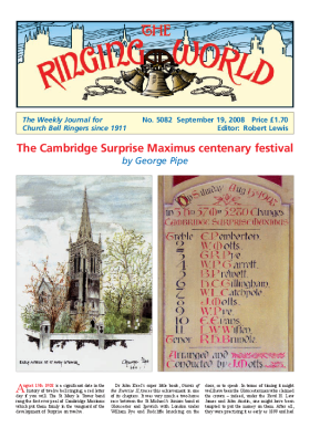 The Ringing World issue 5082
