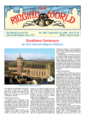 The Ringing World issue 5083