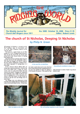 The Ringing World issue 5085