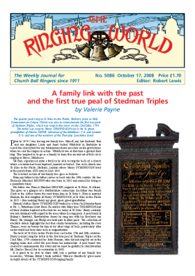 The Ringing World issue 5086