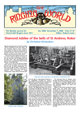 The Ringing World issue 5089