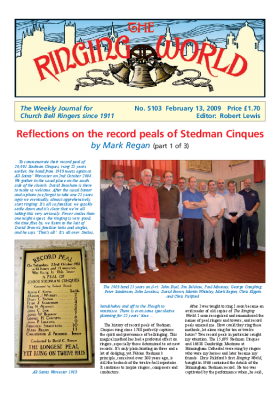 The Ringing World issue 5103