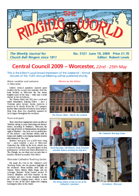 The Ringing World issue 5121