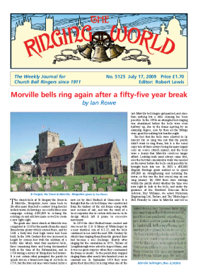 The Ringing World issue 5125