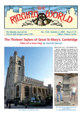 The Ringing World issue 5136