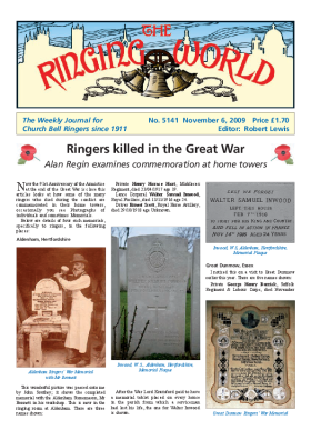 The Ringing World issue 5141