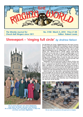 The Ringing World issue 5158