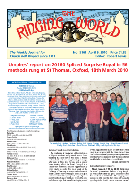 The Ringing World issue 5163
