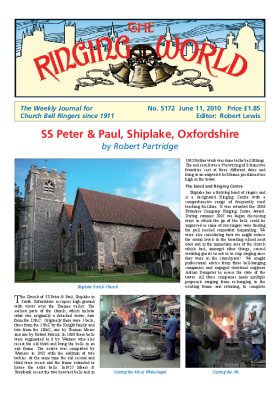 The Ringing World issue 5172
