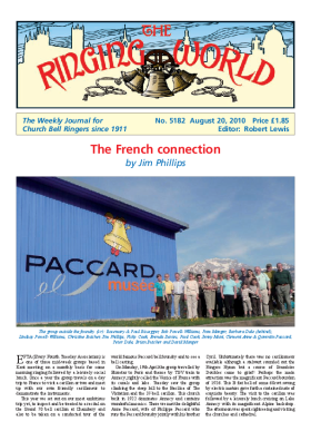 The Ringing World issue 5182
