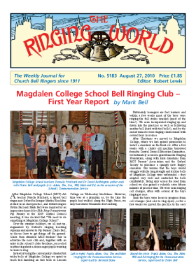 The Ringing World issue 5183