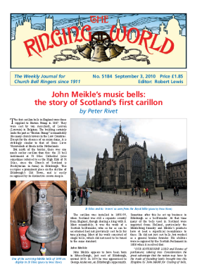 The Ringing World issue 5184