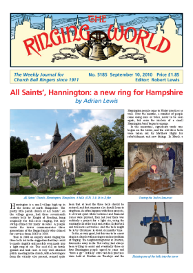The Ringing World issue 5185