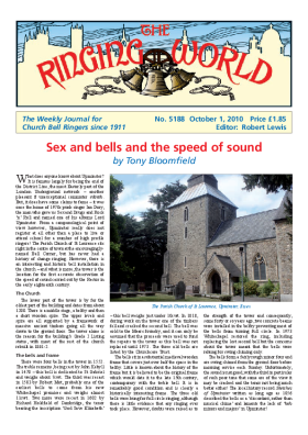 The Ringing World issue 5188