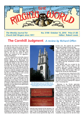 The Ringing World issue 5190
