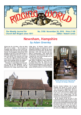The Ringing World issue 5196