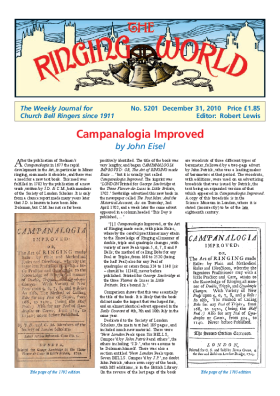 The Ringing World issue 5201