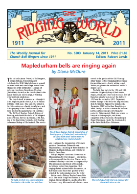 The Ringing World issue 5203