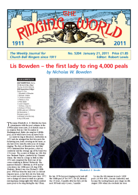 The Ringing World issue 5204