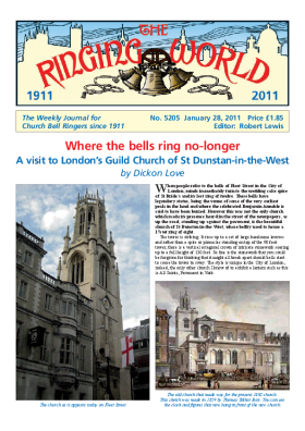 The Ringing World issue 5205