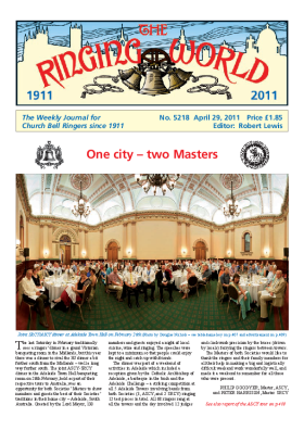 The Ringing World issue 5218