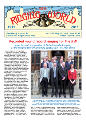 The Ringing World issue 5220