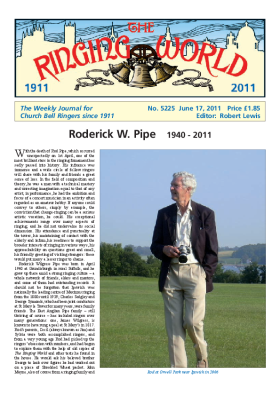 The Ringing World issue 5225