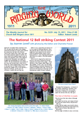 The Ringing World issue 5229