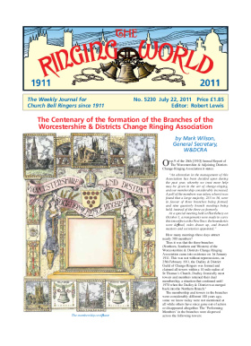 The Ringing World issue 5230