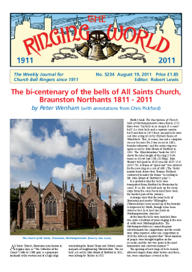 The Ringing World issue 5234